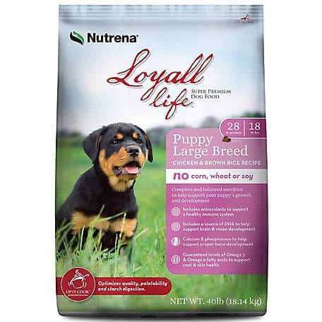 Loyall life dog food